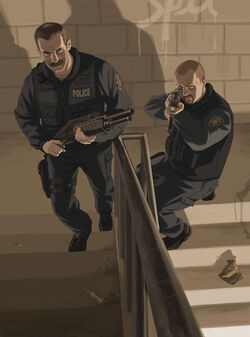 3374 gta iv artwork police
