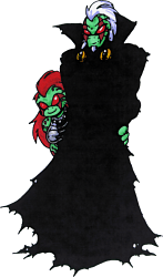 Dark-iguana