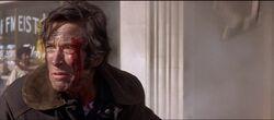 John injured after Dennis saved his life