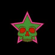Luchadores alternate logo