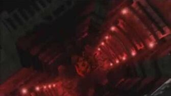 Babylon 5 scene Expelling the Vorlon Ambassador