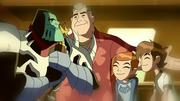 Khyber,Young Ben,Gwen,Grandpa Max