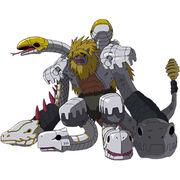 Madleomon Orochi Mode