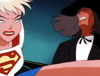 Supergirl vs. Reverend Amos Howell