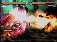 Tekken 5 Jinpachi attack 2