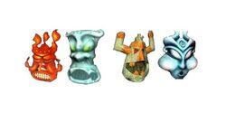 4 Elementals
