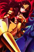 Demon Annelotte Golden Lance