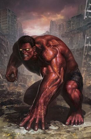 As the Red Hulk