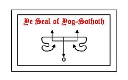 De Seal of Yog-Sothoth