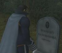 Lt. Col Kawashima's Grave