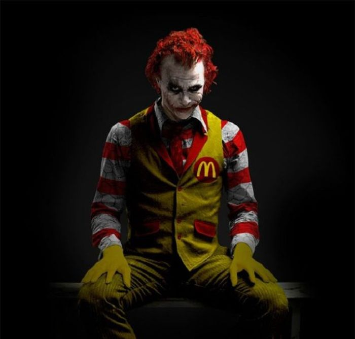Image result for ronald mcdonald demon