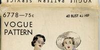 Vogue 6778 A