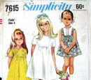 Simplicity 7615 A