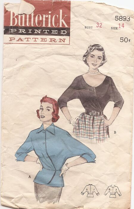 Butterick 5893 image