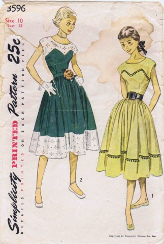Simplicity 1951 3596