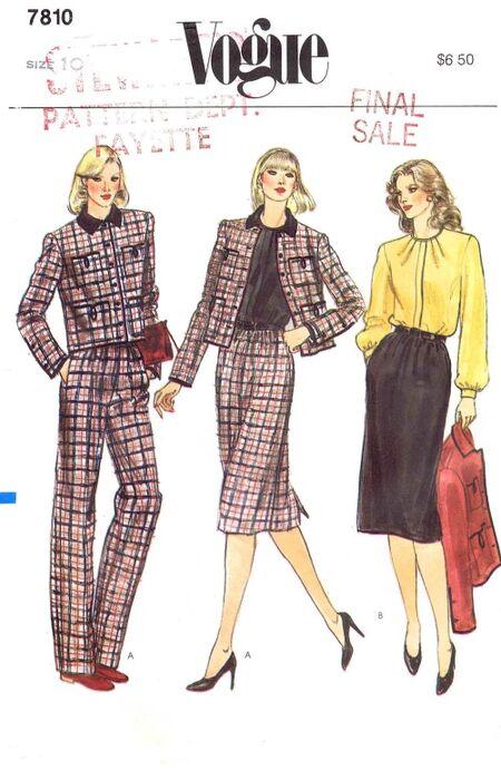 Vogue 1980 7810