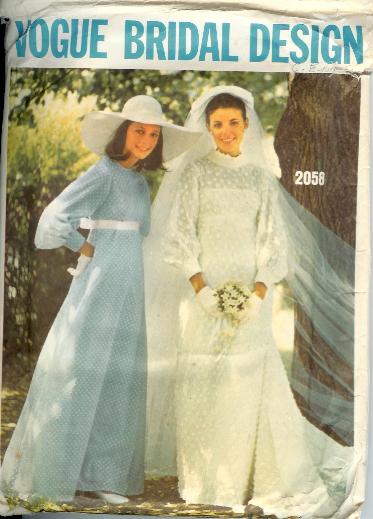 2058V 1970s Bridal