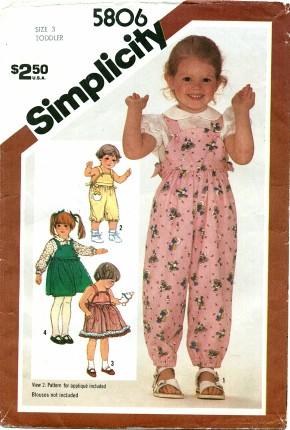 Simplicity 5806