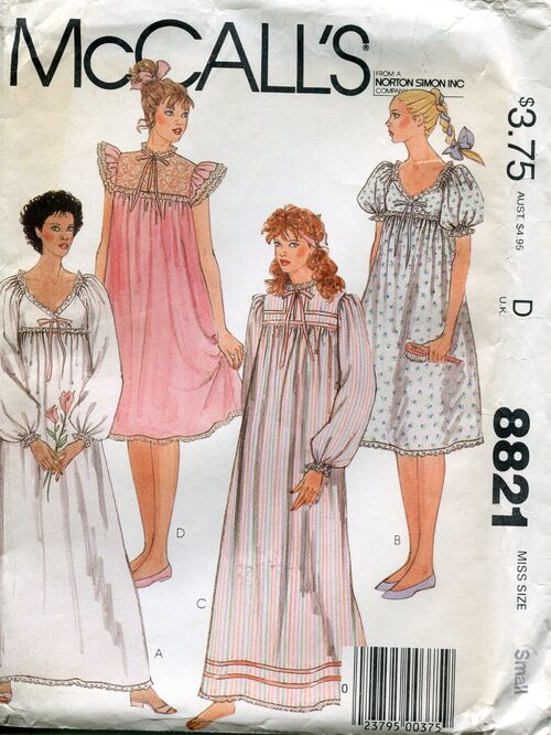 Mccalls8821nightwear
