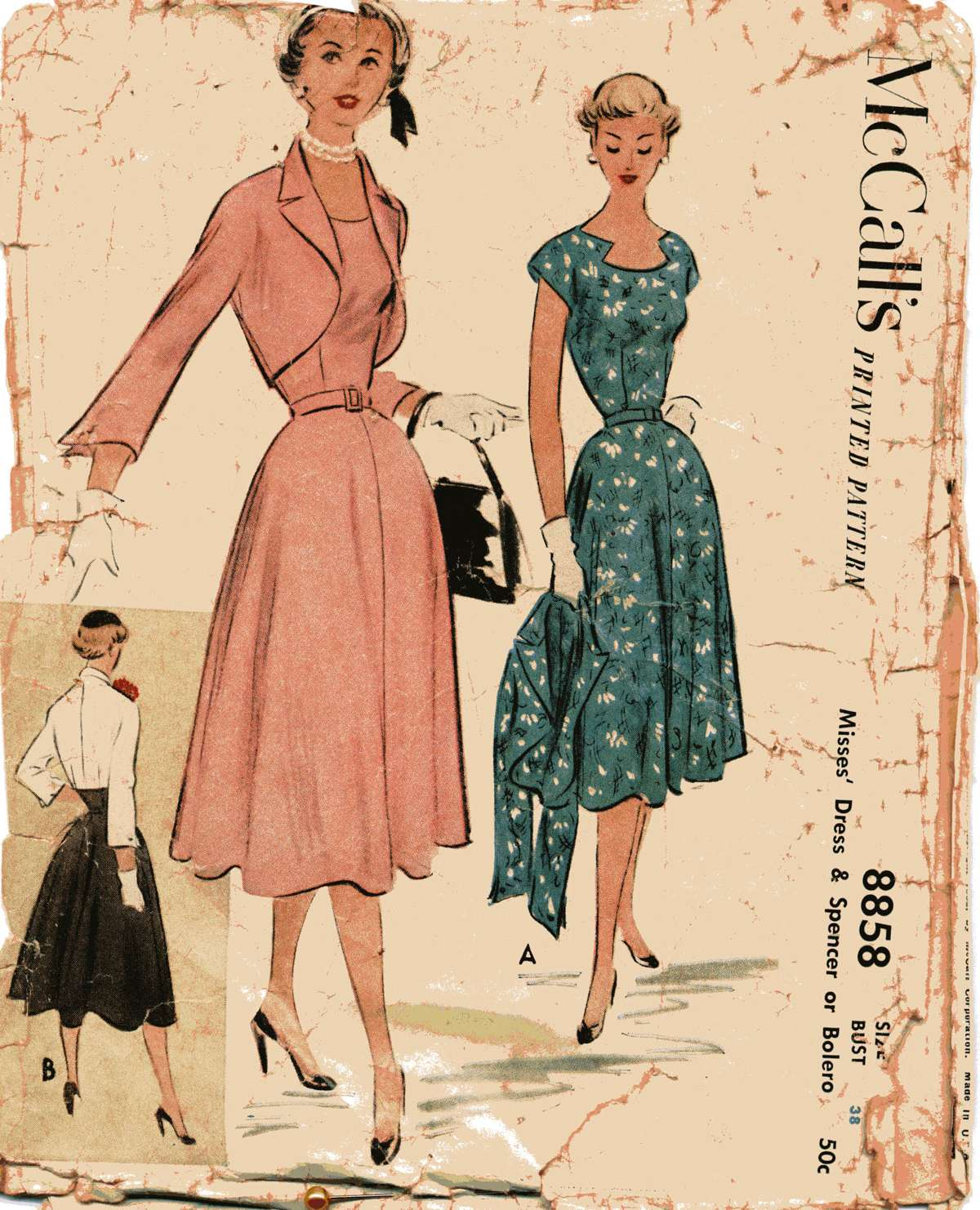 Mccall S 8858 Vintage Sewing Patterns Fandom Powered
