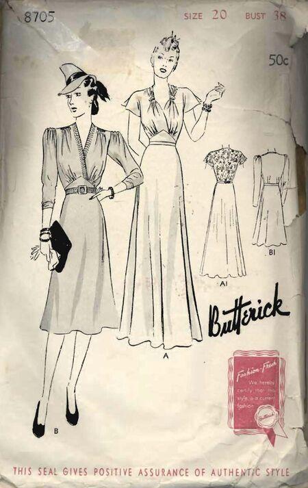 Butterick 8705