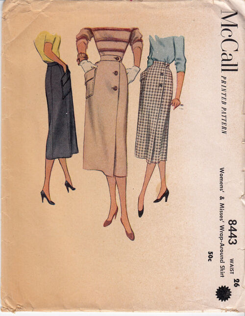 50s skirt sewing pattern