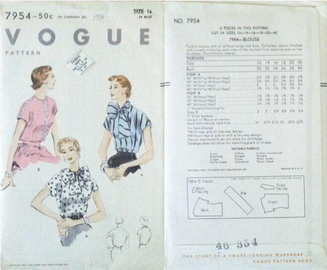Vogue 7954