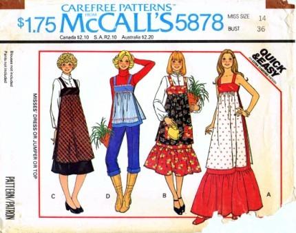 McCalls 1977 5878