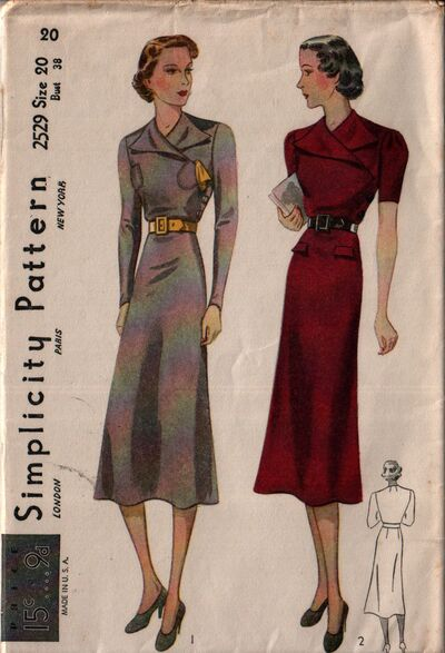 Simplicity 2529 front