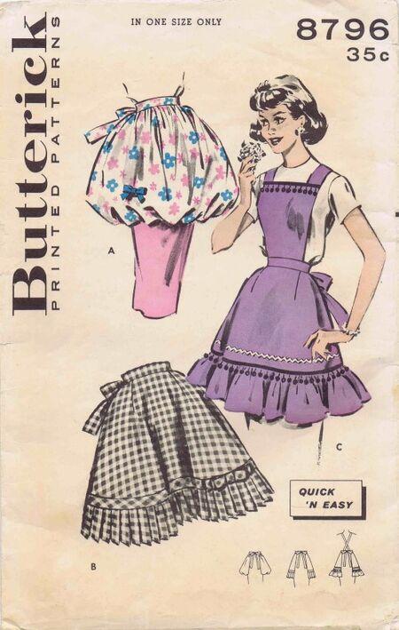 Butterick 1959 8796