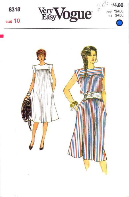 Vogue 1982 8318