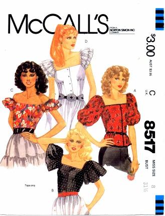 McCalls 1983 8517