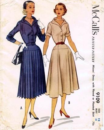 McCalls 1952 9109