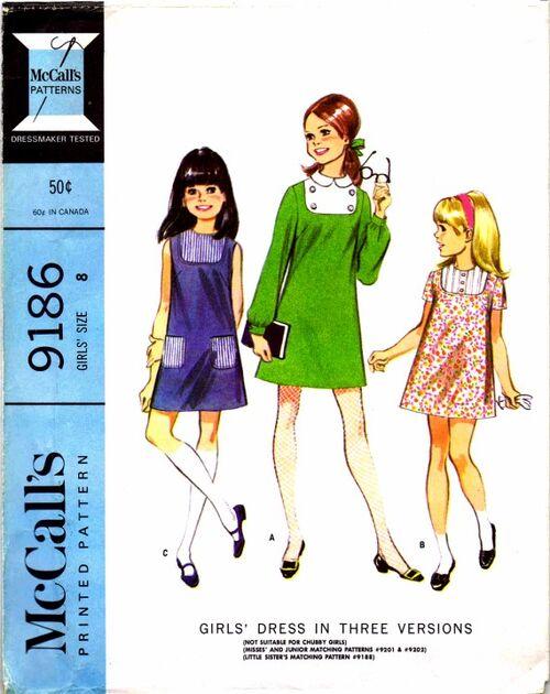 McCalls 1968 9186