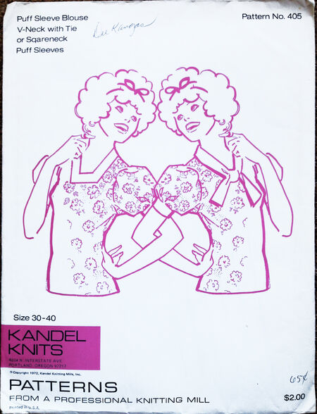 1972 Knit Tops