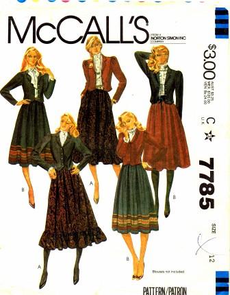 McCalls 1981 7785
