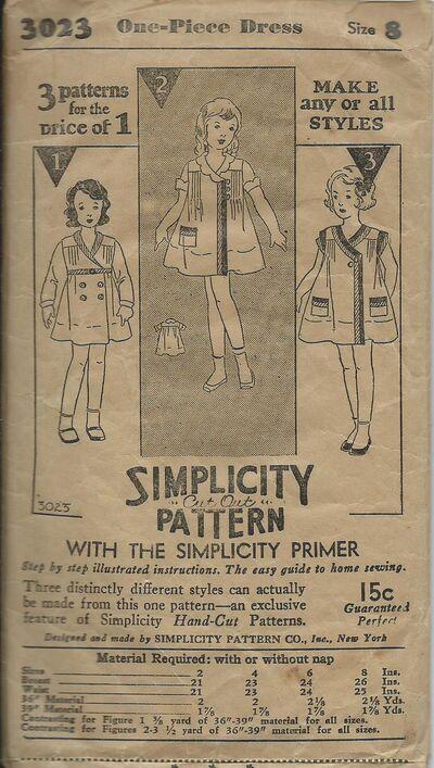 Simplicity 3023