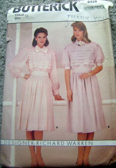 Butterick 6428 image