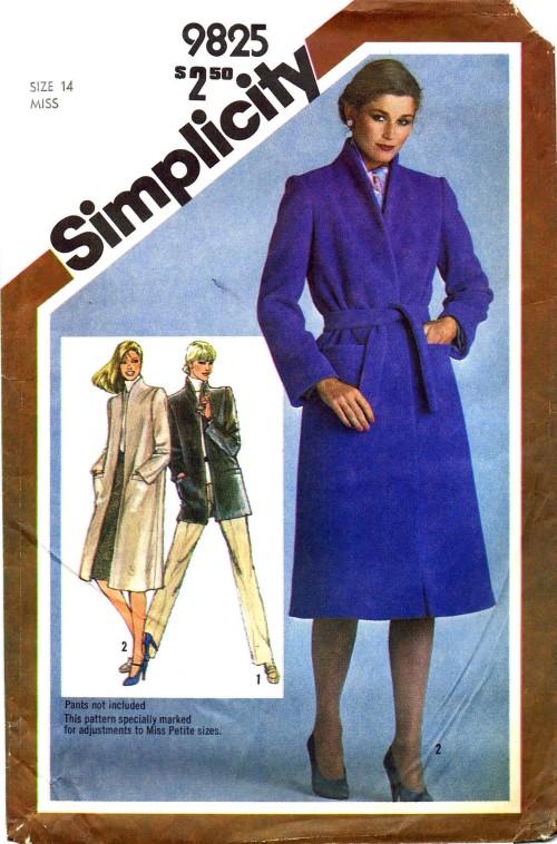 Simplicity 9825