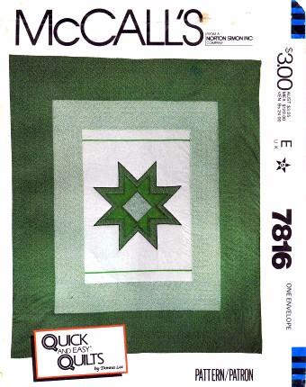 McCalls 1981 7816