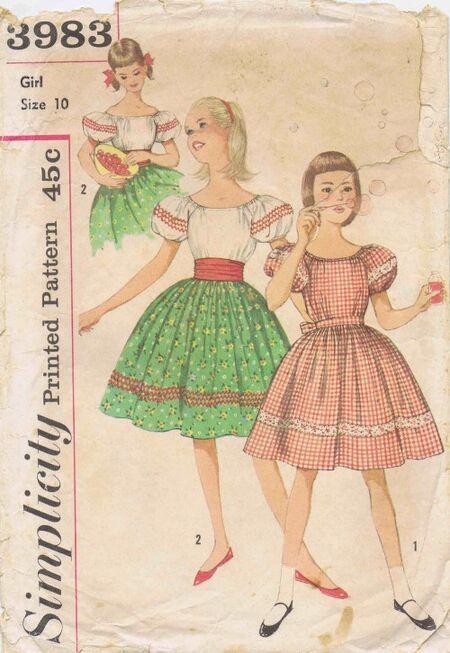 Simplicity 1961 3983