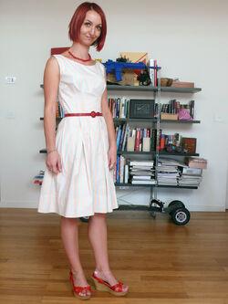 Stripe dress v02
