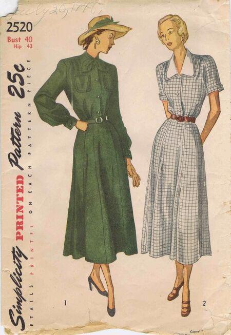 Simplicity 1948 2520