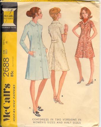 2688m 1970 dress