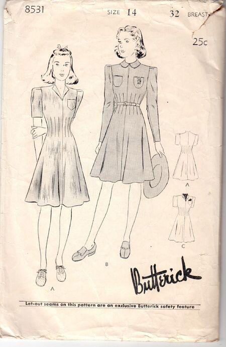 Butterick 8531