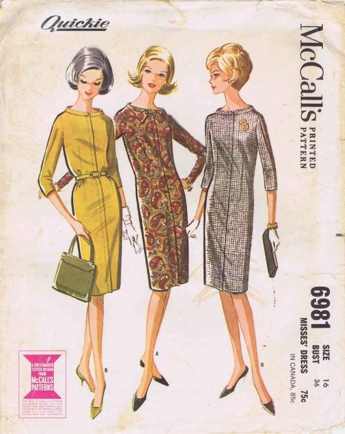 McCalls 1963 6981