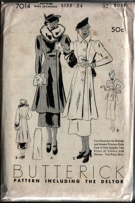 Butterick 7014 front