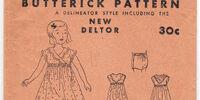 Butterick 3702 D