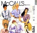 McCall's 7172 A