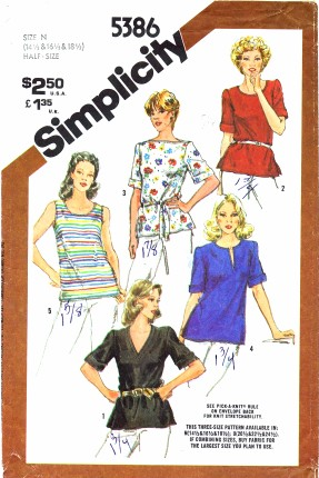 Simplicity 5386